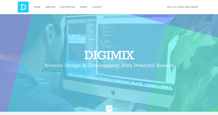Digimix top new web design businesses 10 best design for Best architecture firm websites