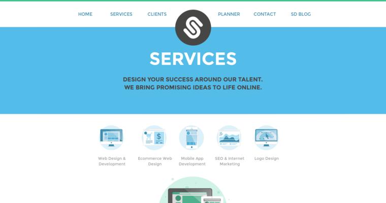Spida design top manhattan web design firms 10 best design for Service design agency