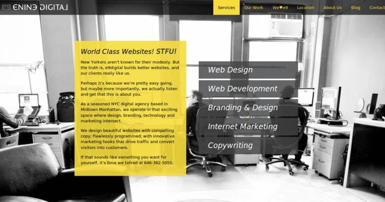 E9 Digital | Best Web Design Firms NYC