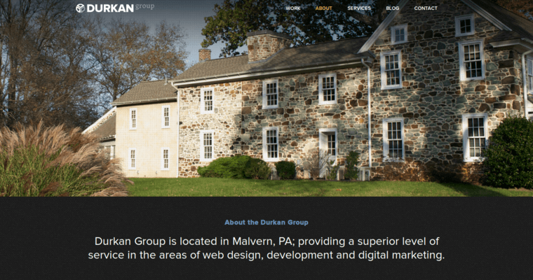 Durkan group best web design firms philadelphia for Architecture firms in philadelphia