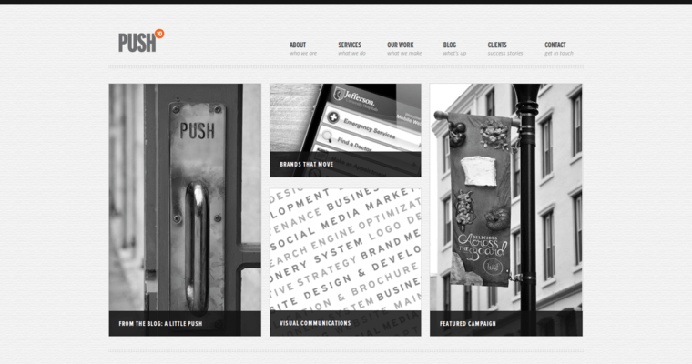 Home Page Of #8 Best Philadelphia Website Development Agency: Push10