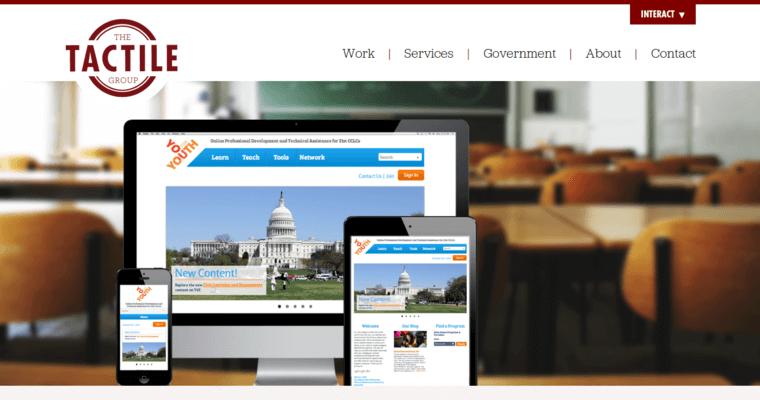 The tactile group best web design firms philadelphia