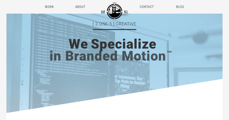 2one5 | Top Brochure Design Businesses | 10 Best Design