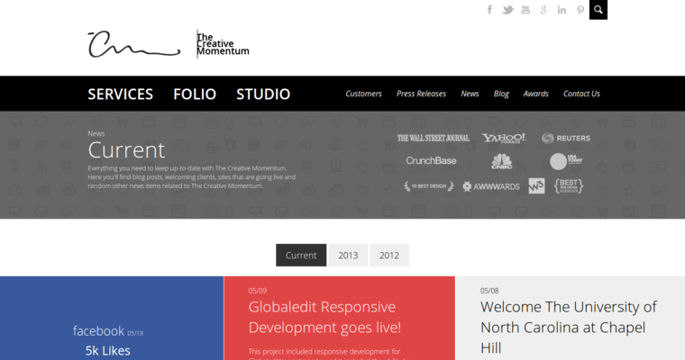 The Creative Momentum Best Web Design Firms