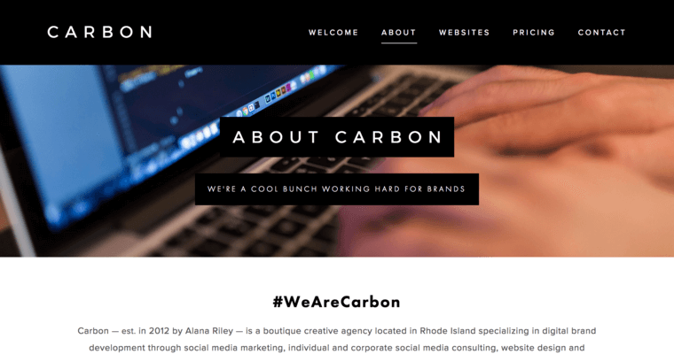 Carbon Creative Agency Best Web Design Firms Providence