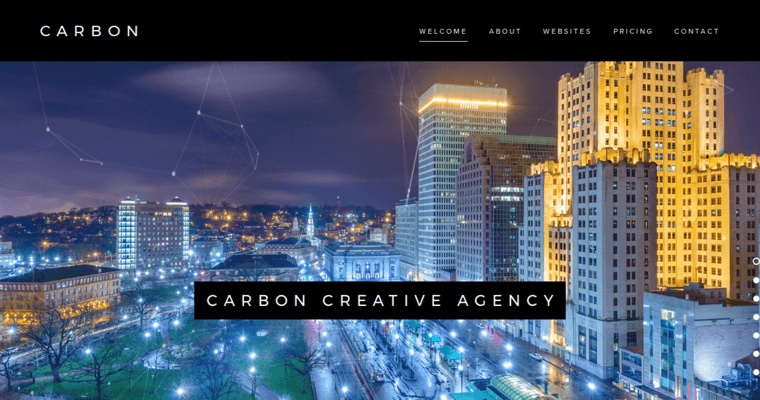Carbon creative agency best web design firms providence for Best architecture firm websites