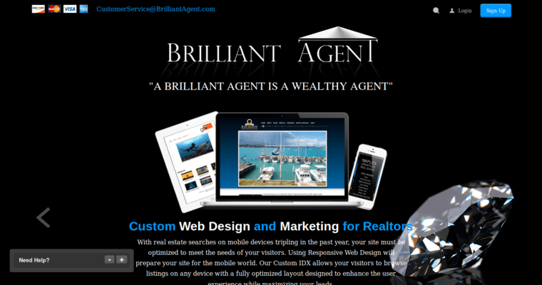Brilliant agent best real estate web design firms for Best architecture firm websites
