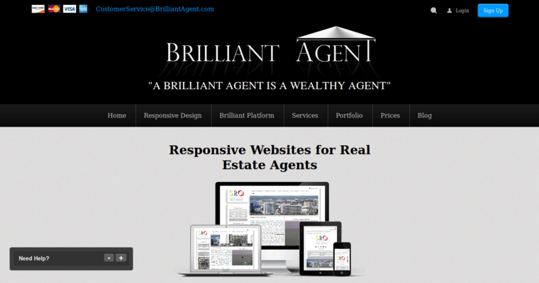 Top Real Estate Development Firms : Brilliant agent best real estate web design firms
