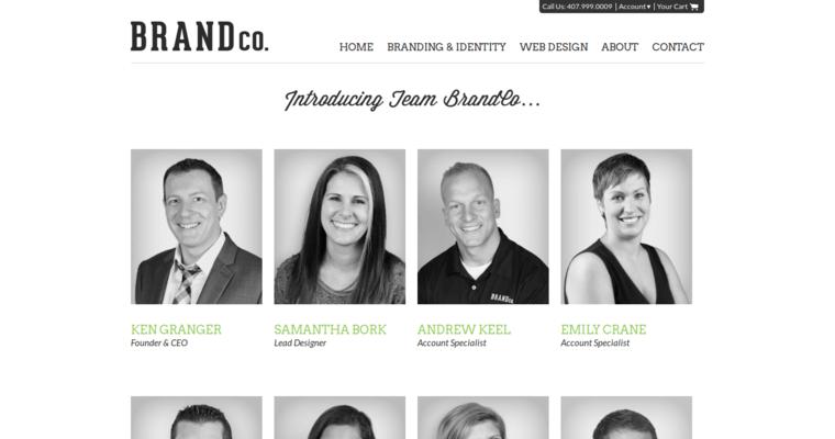 Real Estate Team Profile : Brandco leading real estate web design firms best
