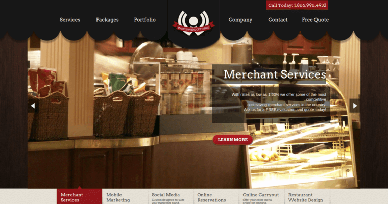 Worldwide optimize best restaurant web design firms