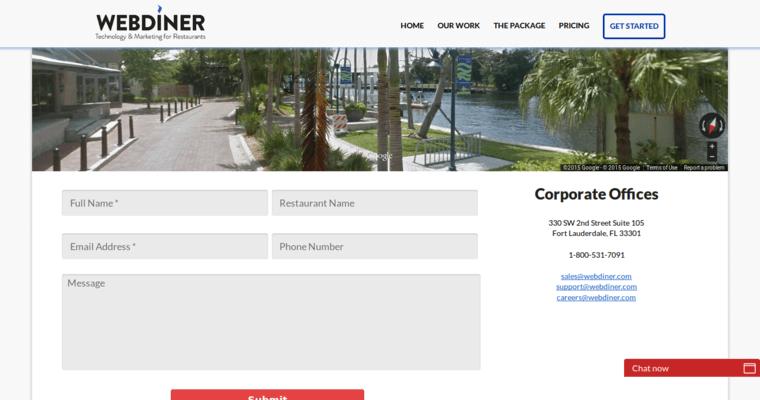 Restaurant Web Design Companies : Webdiner best restaurant web design companies