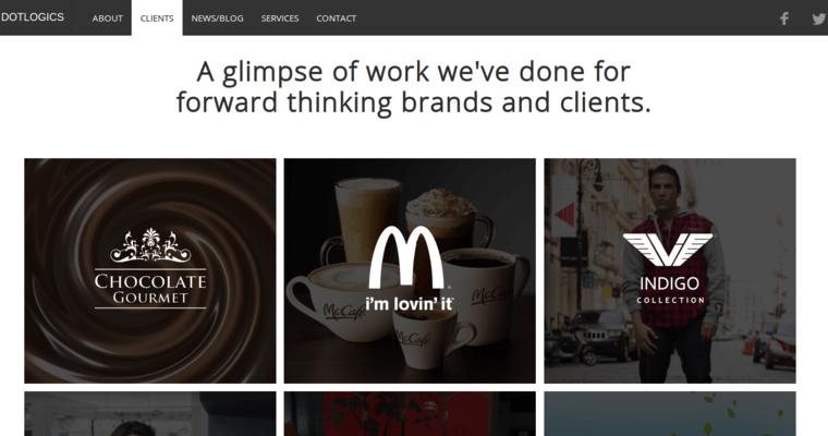 Dotlogics best restaurant web design firms