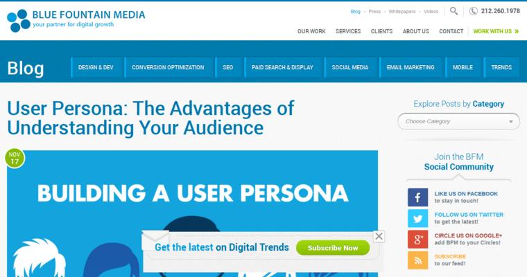 Blue fountain media best restaurant web design firms