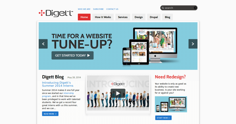Home Page Of 1 Best Sa Website Design Agency Digett