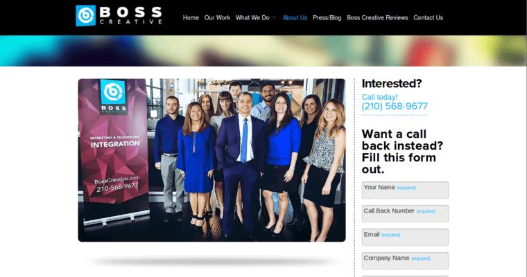 Boss Creative | Best Web Design Firms San Antonio