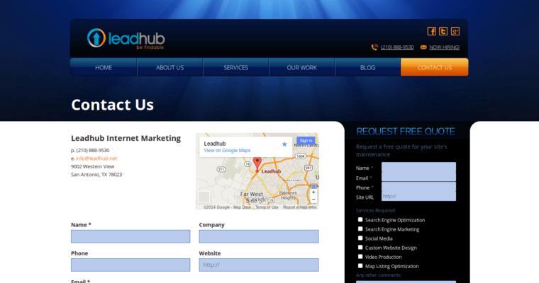 Leadhub | Top SA Website Design Companies | 10 Best Design