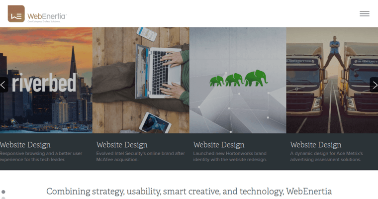 Webenertia Inc Best Web Design Firms San Jose