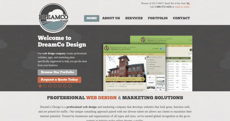 DreamCo Design Home Page