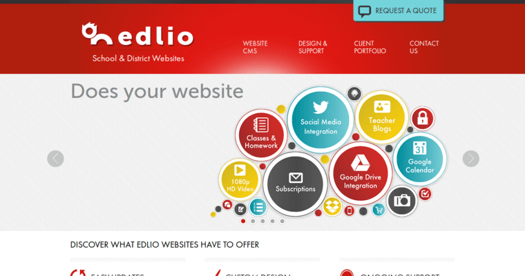 Edlio Home Page