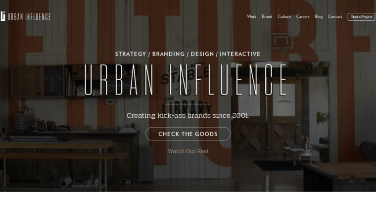 Home Page Of 9 Top Seattle Web Design Agency Urban Influence