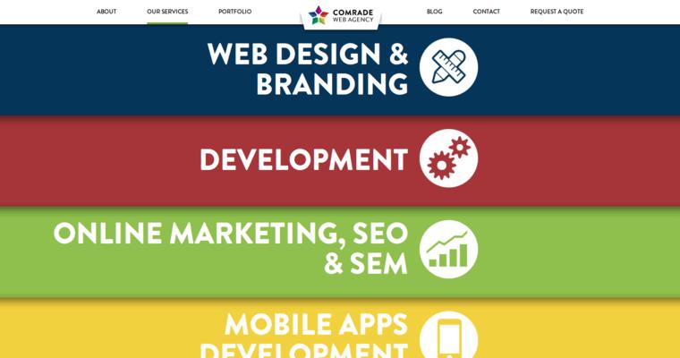 Comrade Leading Seo Web Design Companies 10 Best Design