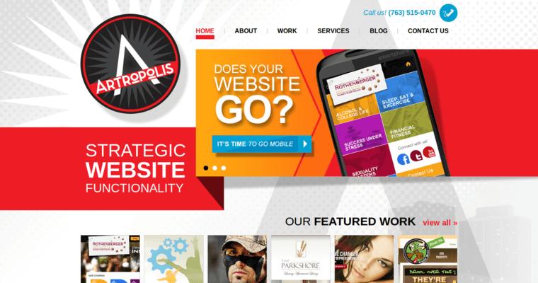 Artropolis Top Seo Website Development Agencies 10 Best Design