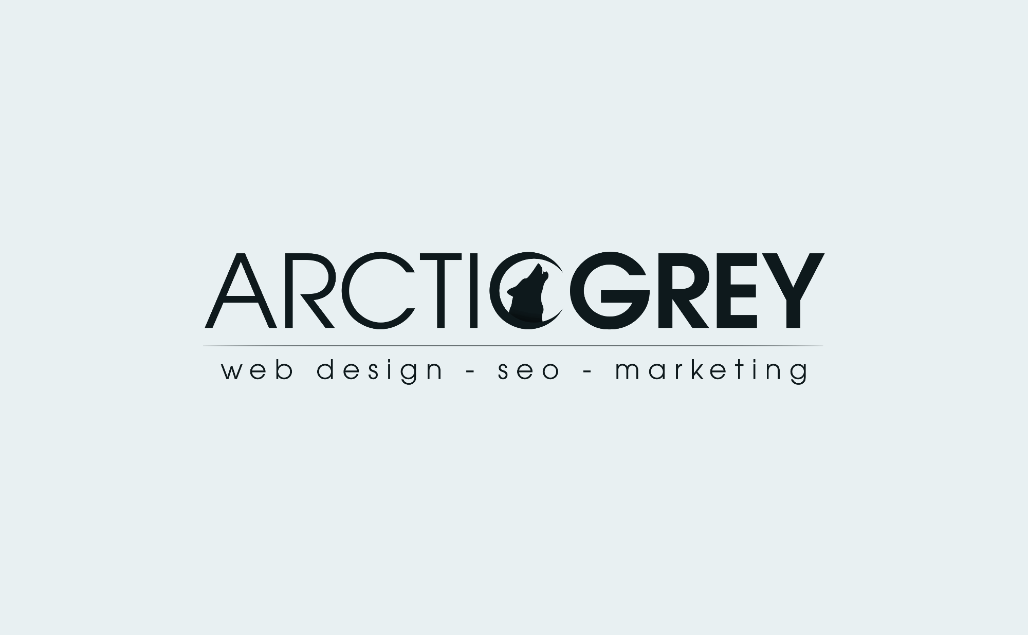 Best SEO Website Design Firm Logo: Arctic Grey Inc