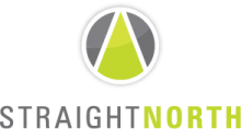 Top SEO Web Development Business Logo: Straight North