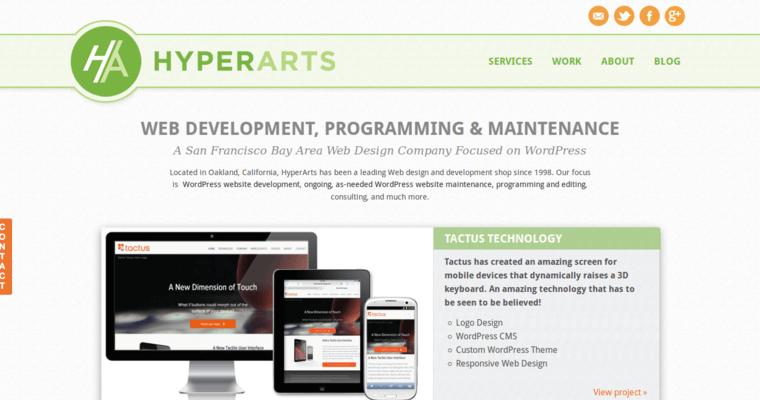 Hyperarts Best Web Design Firms Sf