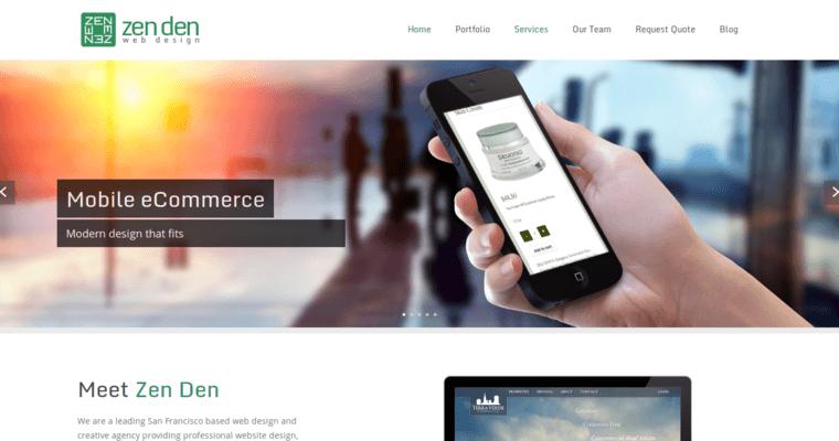 Zen Den Best Web Design Firms Sf