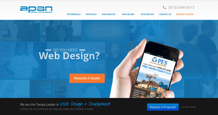 Apan software best small business web design firms for Best architecture firm websites
