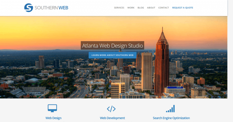 Southern web group best small business web design firms for Small architecture firms