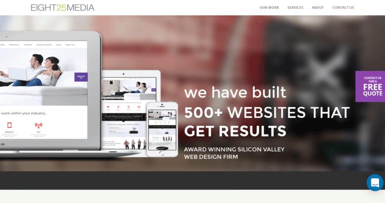 EIGHT25MEDIA   Best Small Business Web Design Firms