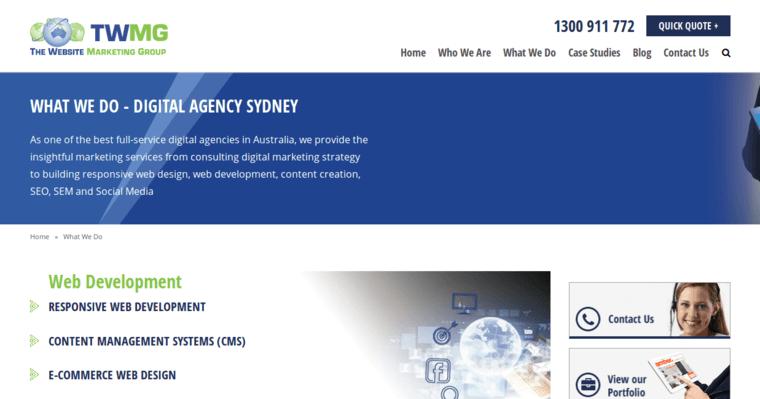 The Website Marketing Group Best Web Design Firms Sydney