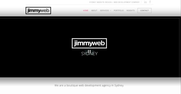Jimmyweb Web Design & Development | Best Web Design Firms Sydney