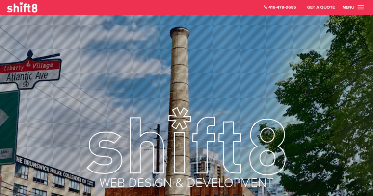 Shift8 web top toronto web design companies 10 best design for Design agency toronto
