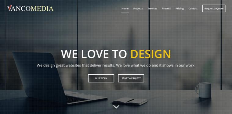 vancomedia web design branding best web design firms vancouver