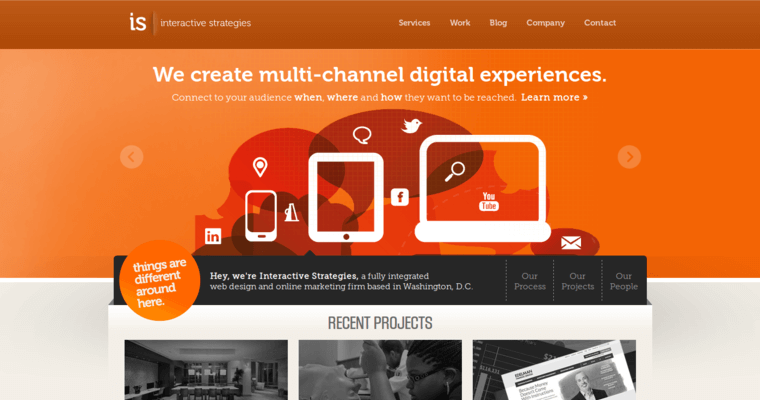 Interactive Strategies Best Web Design Firms Dc