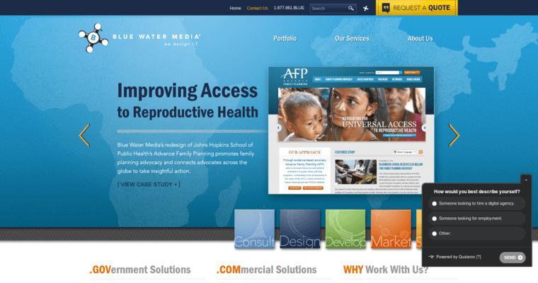 Blue Water Media Best Web Design Firms Dc