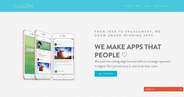 Swarm Top Web App Development Firms 10 Best Design