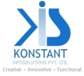 Best WordPress Website Development Company Logo: Konstant Infosolutions