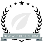 Best New Web Design Firms Badge