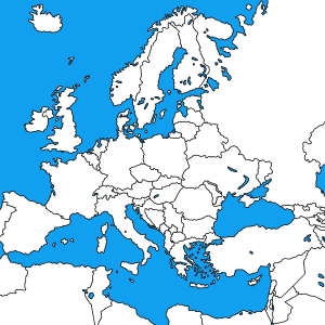 Clickable Map Of Europe Interactive Map Of Europe Jqvmap