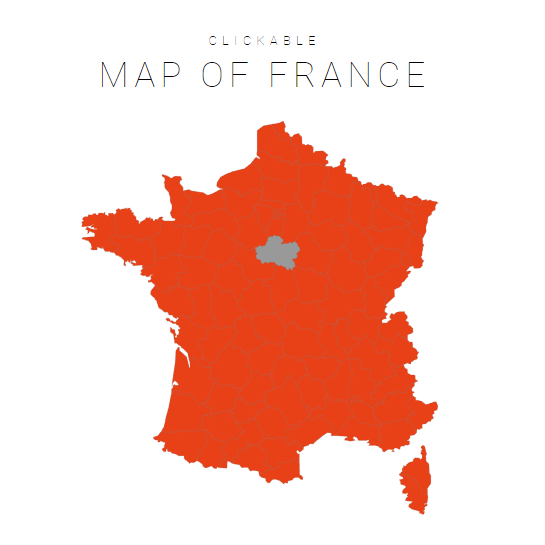 Clickable Map Of France Interactive Map Of France Jqvmap
