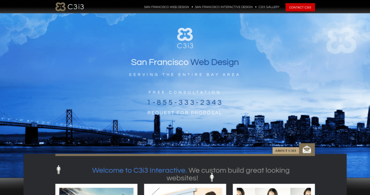 Home Page of Top Web Design Firms in California: C3i3