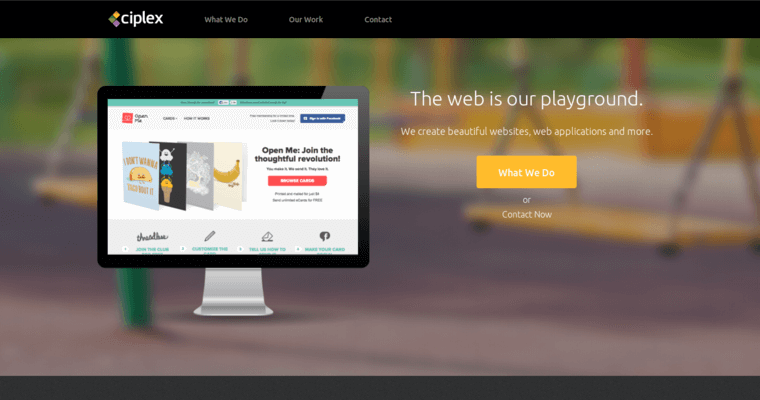 Home Page of Top Web Design Firms in California: Ciplex