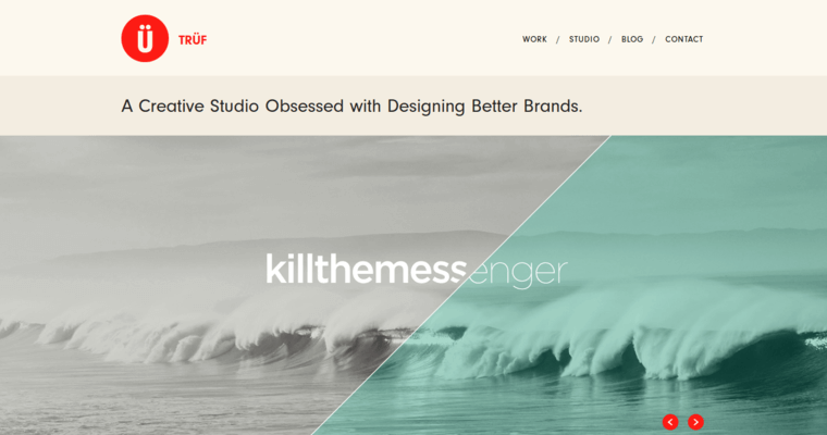 Home Page of Top Web Design Firms in California: TRÜF Creative