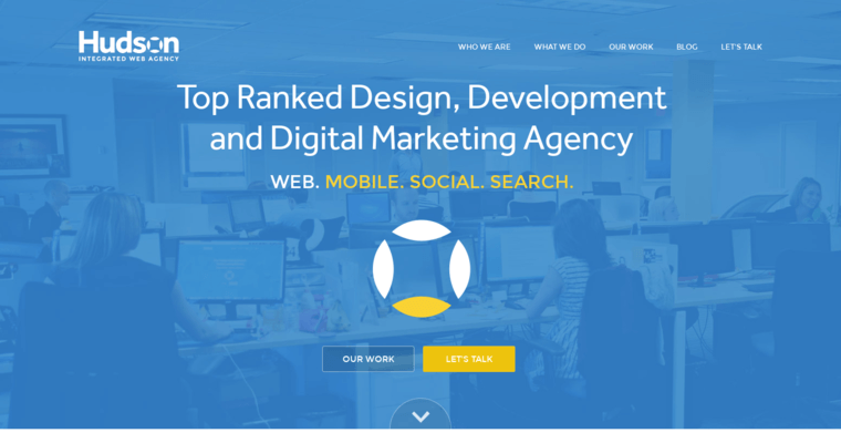 Home Page of Top Web Design Firms in New Jersey: Hudson Integrated