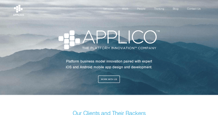 Home Page of Top Web Design Firms in New York: Applico
