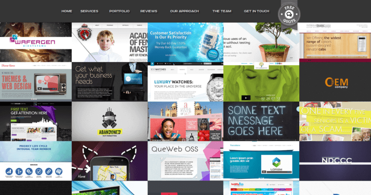 Folio Page of Top Web Design Firms in New York: Beluga Lab